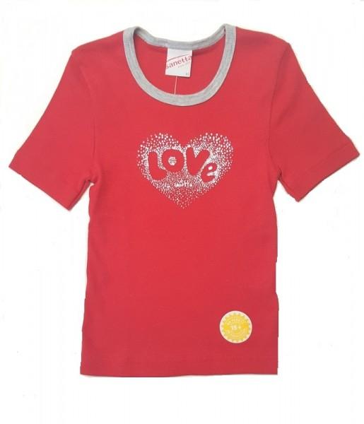 Unterhemd rot sanetta baumwolle piccolina waldkindergarten