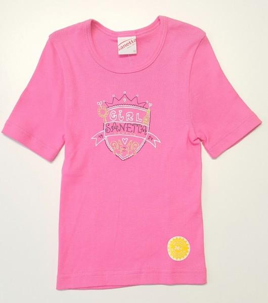 Unterhemd langarm pink sanetta baumwolle piccolina waldkindergarten