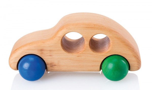 Holzauto STADTHUPFER BUNT  piccolina  Waldkindergarten