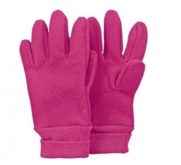 Fleece-Fingerhandschuhe magenta STERNTALER