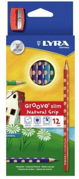 Buntstifte GROOVE SLIM 12er-SET LYRA piccolina Waldkindergarten