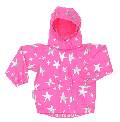 Regenjacke Star ticket to heaven piccolina Waldkindergarten
