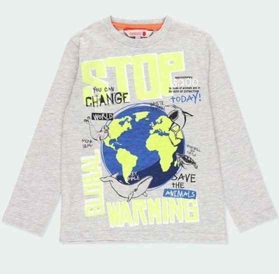 Langarm-Shirt STOP Bóboli piccolina