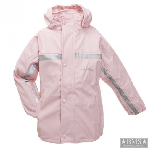 Waldkinder Regenjacke rosa BMS piccolina Waldkindergarten