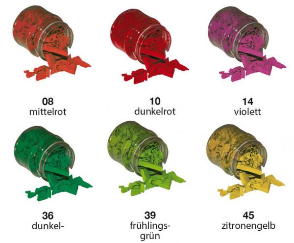 Wachs-Färbeplättchen artidee piccolina
