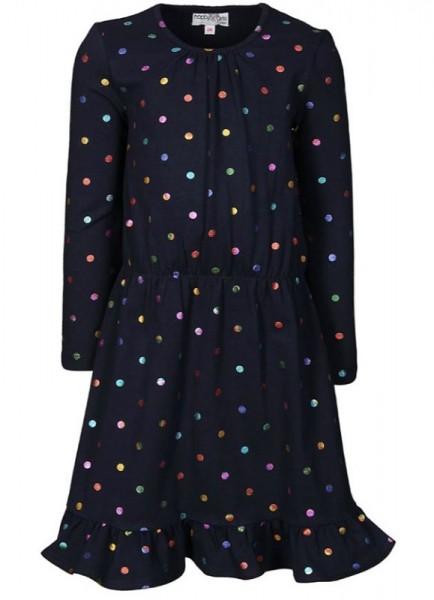 Jersey-Kleid COLORFUL DOTS Happy Girls Waldkindergarten, piccolina