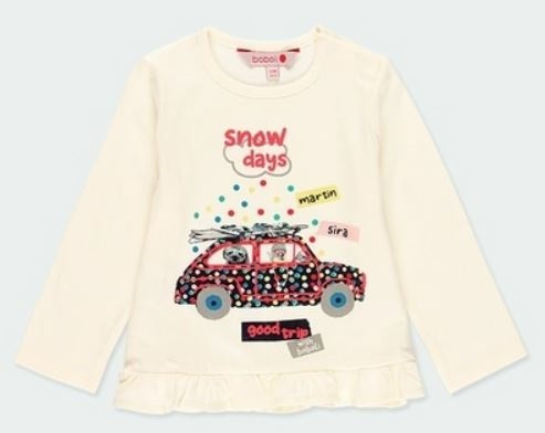 Langarm-Shirt GOOD TRIP BOBOLI piccolina Waldkindergarten