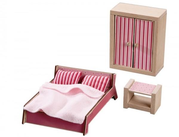 SCHLAFZIMMER - Puppenhaus-Möbel Little friends HABA piccolina Waldkindergarten