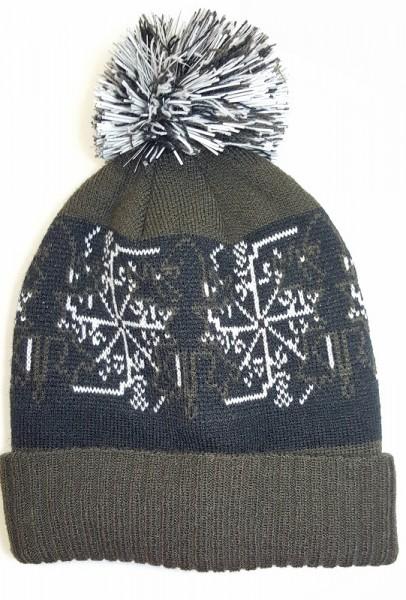 Mütze EXES i Strickwintermütze Norwegerdesign.piccolina waldkindergarten