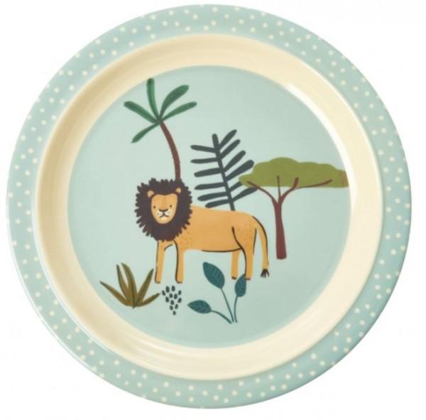 Melamin-Teller LÖWE rice piccolina, Waldkindergarten